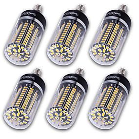 ieftine Becuri LED Corn-YouOKLight 6pcs Becuri LED Corn 1200 lm E14 E12 E26 / E27 T 120 LED-uri de margele SMD 5736 Decorativ Alb Cald Alb Rece 220-240 V 110-130 V 85-265 V / 6 bc