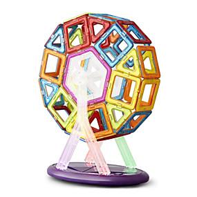 olcso Játékok & hobbi-64 pcs Mágneses játékok Mágneses blokk Építőkockák Super Strong ritkaföldfémmágnes Neodímium mágnes Fejtörő Fémes ABS Jó minőség Mágneses Gyermek / Felnőttek Fiú Lány Játékok Ajándék