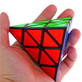 billige Pedagogiske leker-Magic Cube IQ-kube Shengshou Pyramid Alien Glatt Hastighetskube Pedagogisk leke Kubisk Puslespill profesjonelt nivå Hastighet Glat Fødselsdag Klassisk & Tidløs Barne Voksne Leketøy Gutt Jente Gave