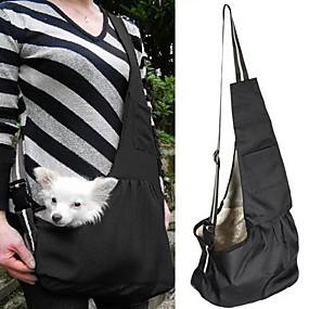 cheap Pet Supplies-Cat Dog Carrier & Travel Backpack Shoulder Bag Pet Baskets Portable Stripe Red / White White / Blue For Pets
