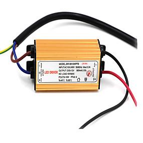 Недорогие Светодиодные драйверы-85-265 V Водонепроницаемый Алюминий Источник LED излучения 10 W