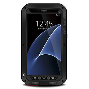 voordelige Galaxy S7 Hoesjes / covers-hoesje Voor Samsung Galaxy S7 edge / S7 / S6 edge Water / Dirt / Shock Proof Volledig hoesje Effen Hard Metaal