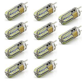 povoljno LED svjetla s dvije iglice-10pcs 3 W LED svjetla s dvije iglice 220 lm T 48 LED zrnca SMD 3014 Ukrasno Toplo bijelo Hladno bijelo 12 V / 10 kom. / RoHs