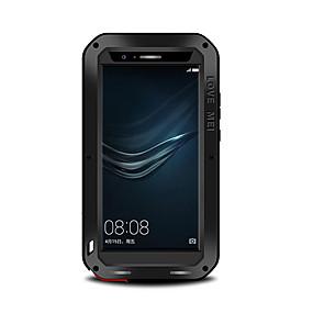 billige LOVE MEI®-Etui Til Huawei P9 / Huawei / Huawei P9 Plus Vand / Dirt / Shock Proof Fuldt etui Ensfarvet Hårdt Metal for Huawei P9 Plus / Huawei P9 / Huawei