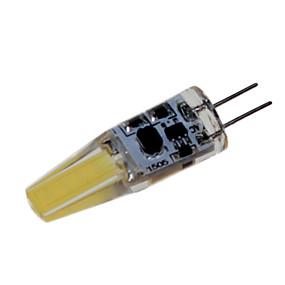 billige LED-lamper med G-sokkel-brelong 1 stk g4 3w 1 dimmeligt majslys ac12v hvid varm hvid