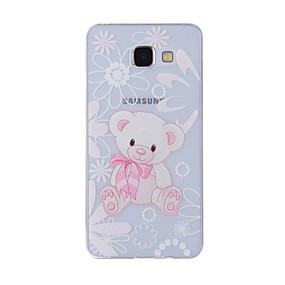 voordelige Galaxy A8 Hoesjes / covers-hoesje Voor Samsung Galaxy A8(2016) / A5(2016) / A3(2016) Patroon Achterkant dier Zacht TPU