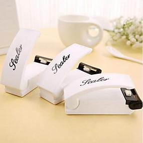 billige Artikler til hjemmet-håndaktiveret mini-tætningsapparat til snackposer plastposer madopskæringsværktøjer