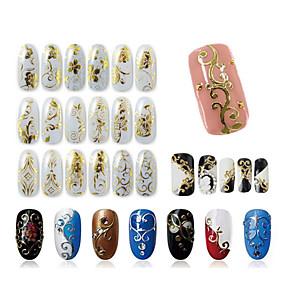 ieftine Acțibilde Unghii-1 pcs 3D Acțibilduri de Unghii nail art pedichiura si manichiura Modă Zilnic / 3D pentru autocolante