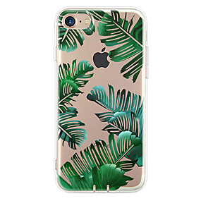 abordables Coques d'iPhone-Coque Pour Apple iPhone 7 / iPhone 7 Plus / iPhone 6 Ultrafine / Motif Coque Arbre Flexible TPU pour iPhone 7 Plus / iPhone 7 / iPhone 6s Plus