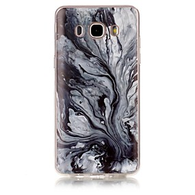 voordelige Galaxy Grand Prime Hoesjes / covers-hoesje Voor Samsung Galaxy J7 (2016) / J7 / J5 (2016) IMD / Patroon Achterkant Marmer Zacht TPU