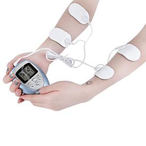 رخيصةأون Body Massager-هيئة مدلك 4 منصات الكامل التخسيس الكهربائية في العضلات نبض ضئيلة الاسترخاء الدهون الموقد