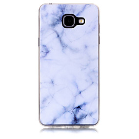 voordelige Galaxy A3(2016) Hoesjes / covers-hoesje Voor Samsung Galaxy A3 (2017) / A5 (2017) / A7 (2017) Patroon Achterkant Marmer Zacht TPU