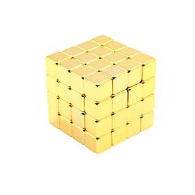 olcso Játékok & hobbi-125 pcs Mágneses játékok Építőkockák Super Strong ritkaföldfémmágnes Neodímium mágnes Rubik-kocka Stresszoldó Klasszikus Móka Gyermek / Felnőttek Fiú Lány Játékok Ajándék