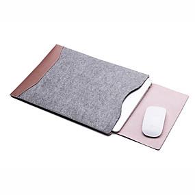 abordables Étuis MacBook & Sacoches MacBook & Sacs MacBook-Manche Couleur Pleine / Entreprise faux cuir pour MacBook Air 11 pouces / MacBook Pro 13 pouces avec affichage Retina / MacBook Air 13 pouces