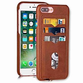 levne iPhone pouzdra-pouzdro pro Apple iphone xr xs xs max držák karty zadní kryt pevné barevné tvrdé pu kůže pro iPhone x 8 8 plus 7 7plus 6s 6s plus se 5 5s