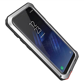 voordelige Galaxy S7 Hoesjes / covers-hoesje Voor Samsung Galaxy S8 Plus / S8 / S7 edge Water / Dirt / Shock Proof Volledig hoesje Schild Hard Aluminium