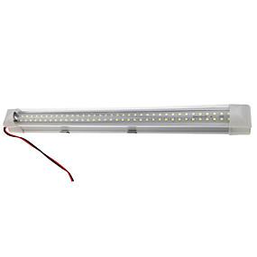 billige Lysstænger-dc12v-85v 72 leds bar light 4,5w stiv ledet lys med tænd / sluk kontakt hvid