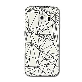 voordelige Galaxy S6 Edge Plus Hoesjes / covers-hoesje Voor Samsung Galaxy S8 Plus / S8 Transparant / Patroon Achterkant Lijnen / golven / Geometrisch patroon Zacht TPU voor S8 Plus / S8 / S7 edge