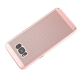 voordelige Galaxy S6 Edge Plus Hoesjes / covers-hoesje Voor Samsung Galaxy S8 Plus / S8 / S7 edge Mat Achterkant Effen Hard PC