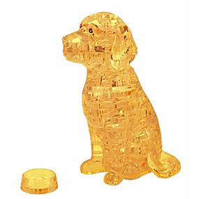 olcso Játékok & hobbi-3D építőjátékok Fejtörő Kristály építőjátékok Kutyák Torony Ló Medve Műanyagok Vas Uniszex Ajándék