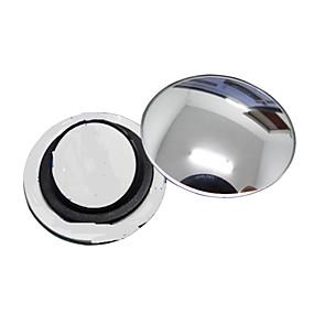 voordelige Rear View Monitor-ziqiao 1 stuks auto achteruitkijkspiegel kleine ronde spiegel groothoek verstelbare visuele convex oppervlak met draaiende voet