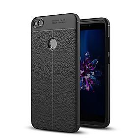 voordelige Huawei Honor hoesjes / covers-hoesje Voor Huawei P9 Lite / Huawei / Huawei P8 Lite P10 Plus / P10 Lite / P10 Schokbestendig Achterkant Effen Zacht Siliconen