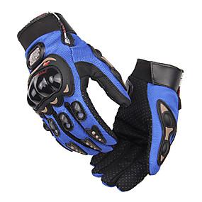 Недорогие Мотоциклетные перчатки-про-байкер полный палец мотоцикл airsoftsports верховая езда гоночные тактические перчатки автоматическая защита двигателя велосипедные
