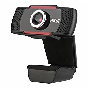 abordables Webcams-hxsj s20 0.3 megapíxeles cámara hd cámara con micrófono