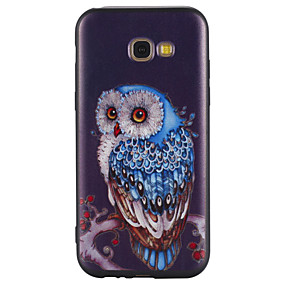 voordelige Galaxy A5(2016) Hoesjes / covers-hoesje Voor Samsung Galaxy A3 (2017) / A5 (2017) / A5(2016) Patroon Achterkant Uil Zacht TPU