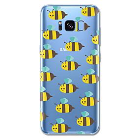 voordelige Galaxy S7 Edge Hoesjes / covers-hoesje Voor Samsung Galaxy S8 Plus / S8 Patroon Achterkant Tegel / Cartoon / dier Zacht TPU voor S8 Plus / S8 / S7 edge