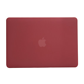 cheap Daily Deals-MacBook Case Frosted Solid Colored Polycarbonate for New MacBook Pro 15-inch / New MacBook Pro 13-inch / Macbook Pro 15-inch