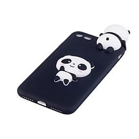 halpa iPhone 8 kotelot-kotelo omena iphone xr xs xs max iskunkestävä takakansi 3d sarjakuva / panda pehmeä tpu iphone x 8 8 plus 7 7plus 6s 6s plus se 5 5s