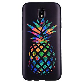 voordelige Galaxy J3 Hoesjes / covers-hoesje Voor Samsung Galaxy J7 (2017) / J5 (2017) / J5 (2016) Patroon Achterkant Fruit Zacht TPU