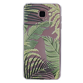 voordelige Galaxy A5(2016) Hoesjes / covers-hoesje Voor Samsung Galaxy A3 (2017) / A5 (2017) / A5(2016) Transparant / Patroon Achterkant Tegel Zacht TPU