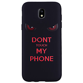 voordelige Galaxy J3 Hoesjes / covers-hoesje Voor Samsung Galaxy J7 (2017) / J5 (2017) / J5 (2016) Patroon Achterkant Woord / tekst Zacht Siliconen
