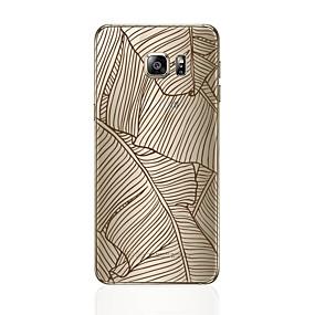 voordelige Galaxy S6 Edge Plus Hoesjes / covers-hoesje Voor Samsung Galaxy S8 Plus / S8 / S7 edge Patroon Achterkant Lijnen / golven Zacht TPU