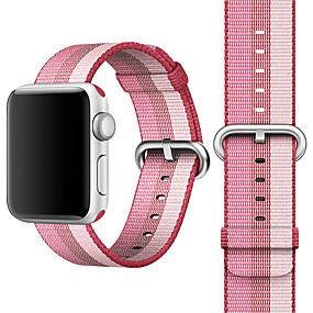 economico Accessori per Apple Watch-Cinturino per orologio  per Apple Watch Series 4/3/2/1 Apple Chiusura classica Nylon Custodia con cinturino a strappo