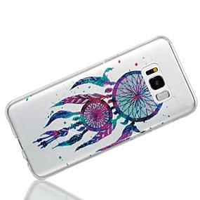 halpa Galaxy S -sarjan kotelot / kuoret-Etui Käyttötarkoitus Samsung Galaxy S8 Plus / S8 IMD / Kuvio Takakuori Uni sieppari / Kimmeltävä Pehmeä TPU varten S8 Plus / S8 / S7 edge