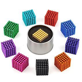 olcso Játékok & hobbi-216 pcs Mágneses játékok mágneses Balls Super Strong ritkaföldfémmágnes Κλασσική Stressz és szorongás oldására Focus Toy Office Desk Toys Enyhíti ADD, ADHD, a szorongás, az autizmus DIY Játékok