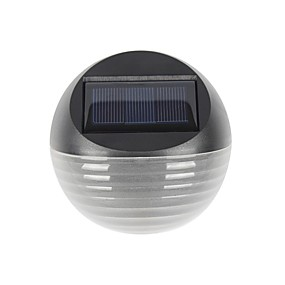 ieftine Becuri Solare LED-1pc cald / rece culoare albă cu lumină solară de 6 zile cu lumină solară cu lampă de lampă cu semiconductoare de grădină cu perete lumină