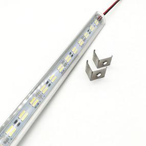 billige Lysstænger-ZDM® 1m Faste LED-lysstriber 144 lysdioder 5630 SMD / 5730 SMD Varm hvid / Kold hvid Nyt Design / Sej 12 V 1pc / IP44