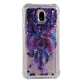 voordelige Galaxy J7 Hoesjes / covers-hoesje Voor Samsung Galaxy J7 (2017) / J7 (2016) / J7 Schokbestendig / Stromende vloeistof / Patroon Achterkant Dromenvanger Zacht TPU