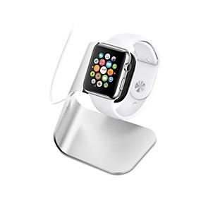 billige Apple-tilbehør-Apple Watch Stativ med adapter Aluminium Skrivebord