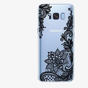 זול כיסויים לסדרת גלאקסי S-מגן עבור Samsung Galaxy S8 Plus / S8 תבנית כיסוי אחורי הדפסת תחרה רך TPU ל S8 Plus / S8 / S7 edge