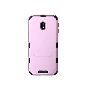 voordelige Galaxy J7(2017) Hoesjes / covers-hoesje Voor Samsung Galaxy J7 Prime / J7 (2017) / J7 Schokbestendig Achterkant Effen Hard Muovi