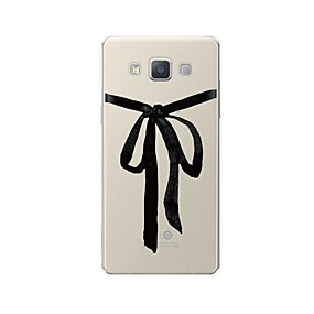 voordelige Galaxy A8 Hoesjes / covers-hoesje Voor Samsung Galaxy A3 (2017) / A5 (2017) / A7 (2017) Patroon Achterkant Lijnen / golven / Cartoon Zacht TPU