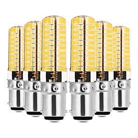 abordables Luces LED de Doble Pin-YWXLIGHT® 6pcs 7 W Luces LED de Doble Pin 600-700 lm E14 G9 G4 T 80 Cuentas LED SMD 5730 Regulable Decorativa Blanco Cálido Blanco Fresco 220-240 V 110-130 V