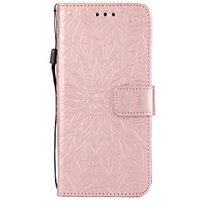 voordelige Galaxy S6 Edge Plus Hoesjes / covers-hoesje Voor Samsung Galaxy S9 / S9 Plus / S8 Plus Portemonnee / Kaarthouder / met standaard Volledig hoesje Mandala Hard PU-nahka