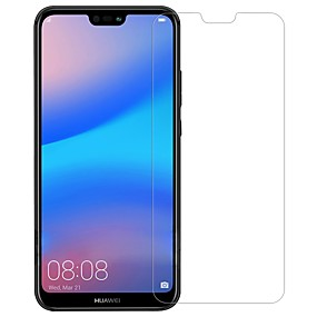 저렴한 화면 보호 필름-화면 보호기 용 Huawei Huawei P20 lite 안정된 유리 1개 화면 보호 필름 고해상도 (HD) / 9H강화 / 폭발의 증거