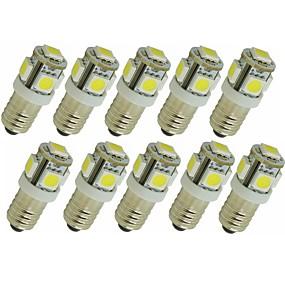 abordables Luces LED de Doble Pin-SENCART 10pcs 1.5 W Luces LED de Doble Pin 90 lm G4 E11 T 5 Cuentas LED SMD 5050 Decorativa Blanco Cálido Blanco Rojo 12 V